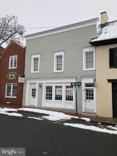Warrenton Commercial For Sale: 21 Culpeper Street