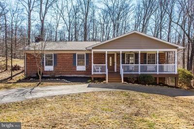 Warrenton Single Family Home Under Contract: 5651 Marigold Lane