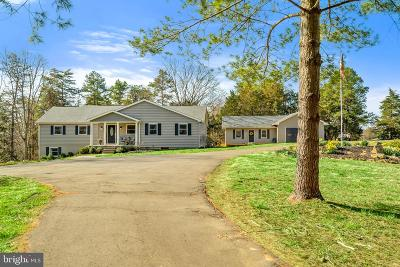 Warrenton Single Family Home For Sale: 9135 Old Waterloo Road
