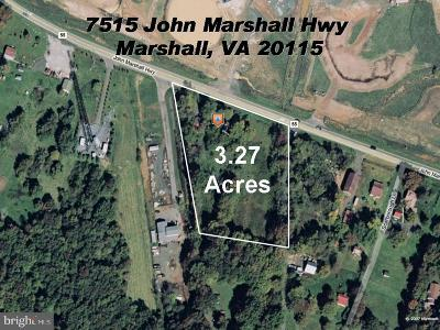 Residential Lots & Land For Sale: 7515 John Marshall Highway