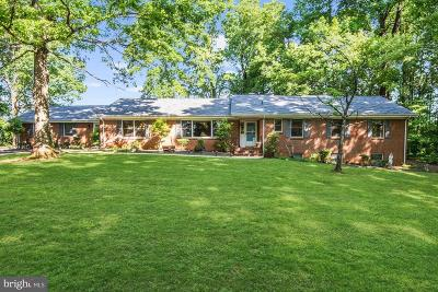 Warrenton Single Family Home For Sale: 9756 Lees Mill Road