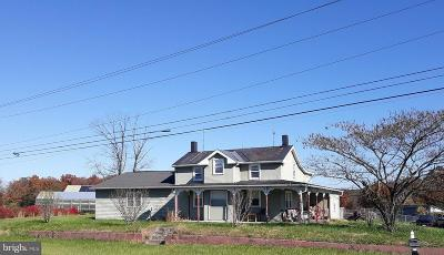 Frederick County Single Family Home For Sale: 2751 Front Royal Pike