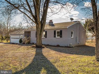 Frederick County Single Family Home For Sale: 160 Poorhouse Road