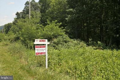 Residential Lots & Land For Sale: Wardensville Pike