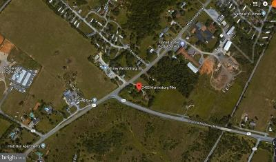 Frederick County Residential Lots & Land For Sale: 2452 Martinsburg Pike