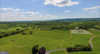 Frederick County Residential Lots & Land For Sale: Lot 3 Jones Road
