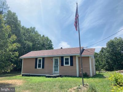 Frederick County Single Family Home For Sale: 1054 Jordan Springs Road