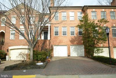Falls Church Townhouse For Sale: 2007 Mayfair McLean Court