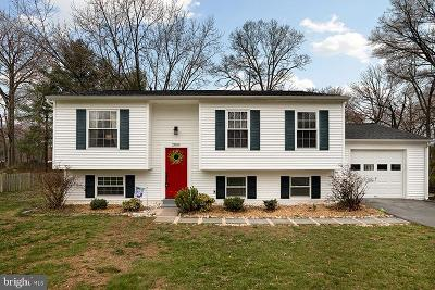 Herndon Single Family Home Active Under Contract: 2804 Reign Street