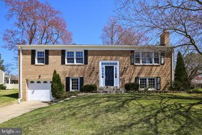 Alexandria Single Family Home For Sale: 8607 Cotswold Court
