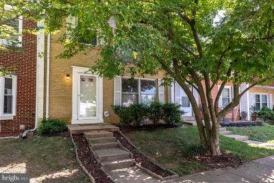 Franconia Townhouse For Sale: 6323 Hillary Court