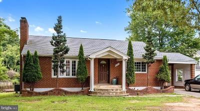 Alexandria Single Family Home Sold: 8304 Central Avenue