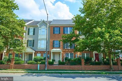 Falls Church Townhouse For Sale: 8167 Skelton Circle