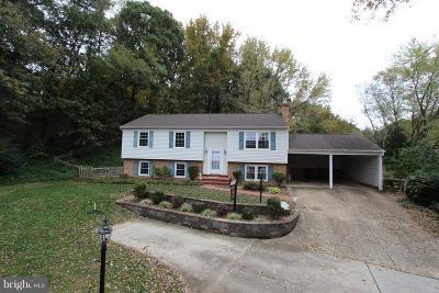 Fairfax County, Fairfax City Single Family Home For Sale: 3806 Cobblestone Court