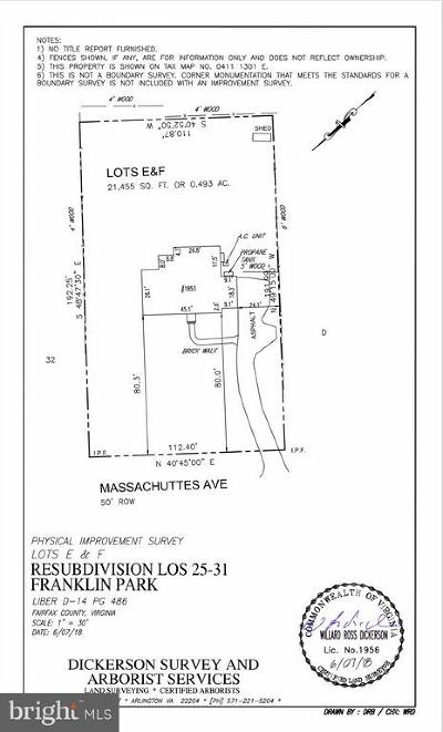 McLean Residential Lots & Land For Sale: 1853 Massachusetts Avenue