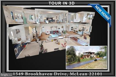 McLean Single Family Home For Sale: 1549 Brookhaven Drive