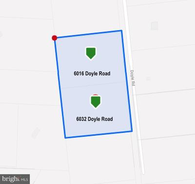 Clifton Residential Lots & Land For Sale: 6032 Doyle Road