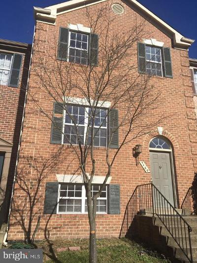 Centreville Townhouse For Sale: 5469 Middlebourne Ln Lane