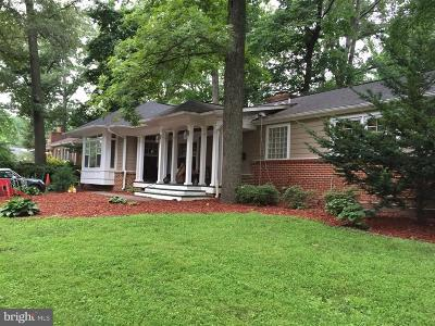 Annandale, Falls Church Single Family Home For Sale: 6624 Fisher Avenue