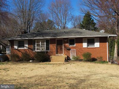 Vienna Single Family Home Active Under Contract: 9020 Dellwood Drive