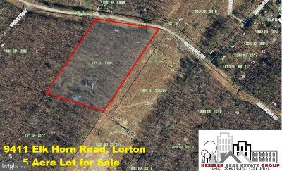 Lorton Residential Lots & Land For Sale: 9411 Elk Horn Road