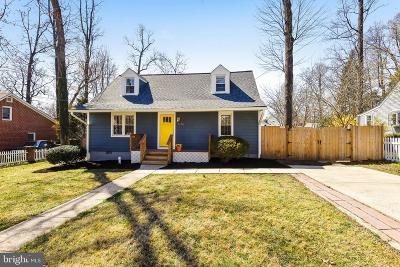 Falls Church Single Family Home For Sale: 7316 Poplar Court
