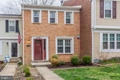 Alexandria Townhouse For Sale: 5729 Heritage Hill Court