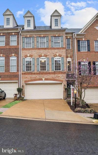 Lorton Townhouse For Sale: 9630 Masey McQuire Court