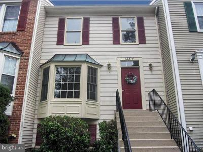 Centreville, Clifton Townhouse For Sale: 13814 Wakley Court