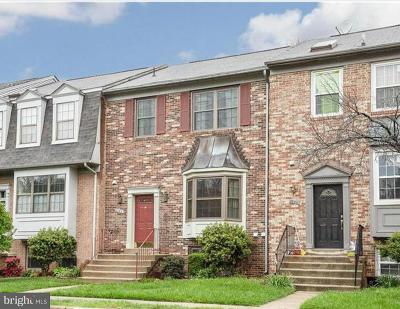 Fairfax Townhouse For Sale: 3950 Tallow Tree Place