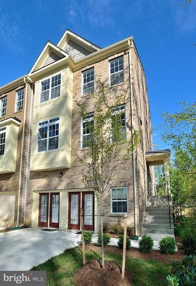 Lorton Townhouse For Sale: 7880 Saint Delores Drive