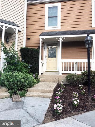 Reston Townhouse For Sale: 11249 Silentwood Lane