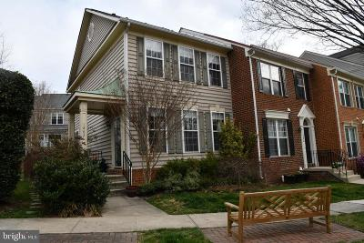 Fairfax County Townhouse For Sale: 1262 Vintage Place