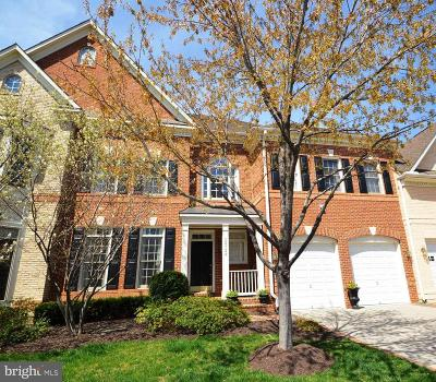 Fairfax Townhouse For Sale: 12729 Lady Somerset Lane