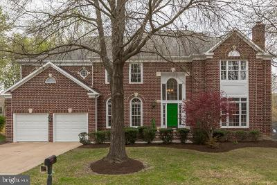 Fairfax Station Single Family Home Under Contract: 8107 Haddington Court