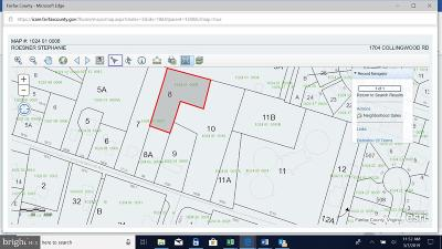 Alexandria Residential Lots & Land For Sale: 1704 Collingwood Road