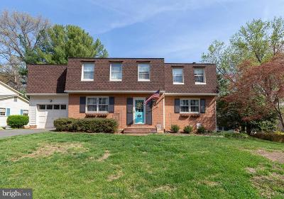 Fairfax VA Single Family Home For Sale: $649,000
