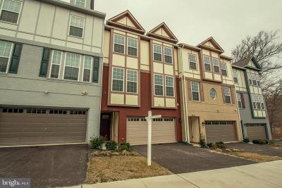 Fairfax County Townhouse For Sale: 7834 Olivet Court
