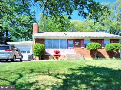 North Springfield Single Family Home For Sale: 7504 Leesville Boulevard