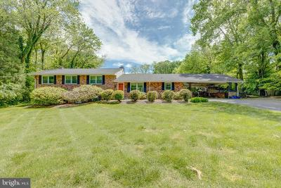 Vienna Single Family Home For Sale: 10005 Coach Road