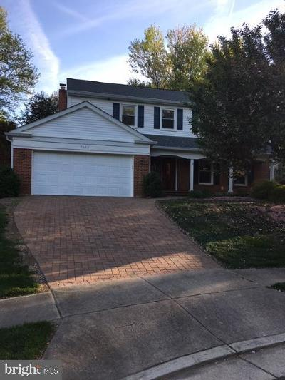Springfield, Burke Single Family Home For Sale: 7602 Paloma Court
