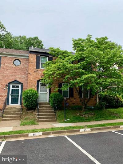 Fairfax County Townhouse Active Under Contract: 3132 Bayswater Court