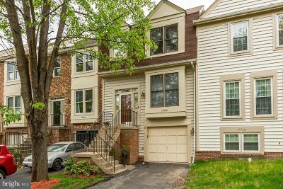 Centreville, Clifton Townhouse For Sale: 13922 Middle Creek Place