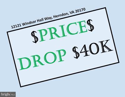 Herndon Single Family Home For Sale: 12121 Windsor Hall Way