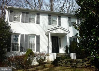 Vienna Single Family Home For Sale: 9908 Oak Branch Drive