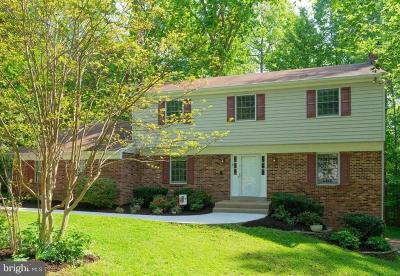 Springfield, Burke Single Family Home For Sale: 8504 Shadeway Place