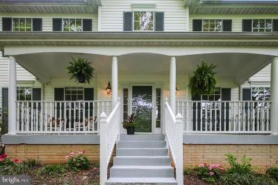 Fairfax, Fairfax Station Single Family Home For Sale: 3900 Fairfax Farms Road