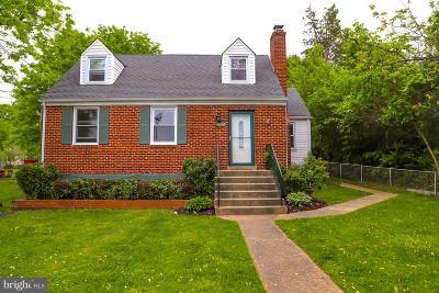 Annandale, Falls Church Single Family Home For Sale: 6656 Jefferson Avenue