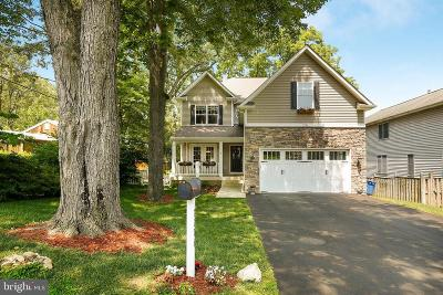 Falls Church Single Family Home For Sale: 7206 Hickory Street
