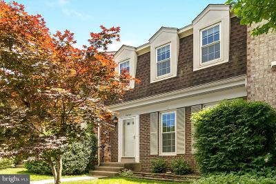 Vienna Townhouse For Sale: 9695 Scotch Haven Drive